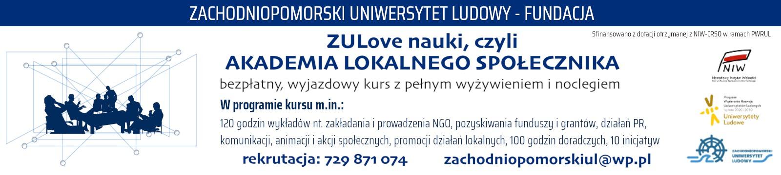 reklama | Zachodniopomorski Uniwersytet Ludowy - Fundacja